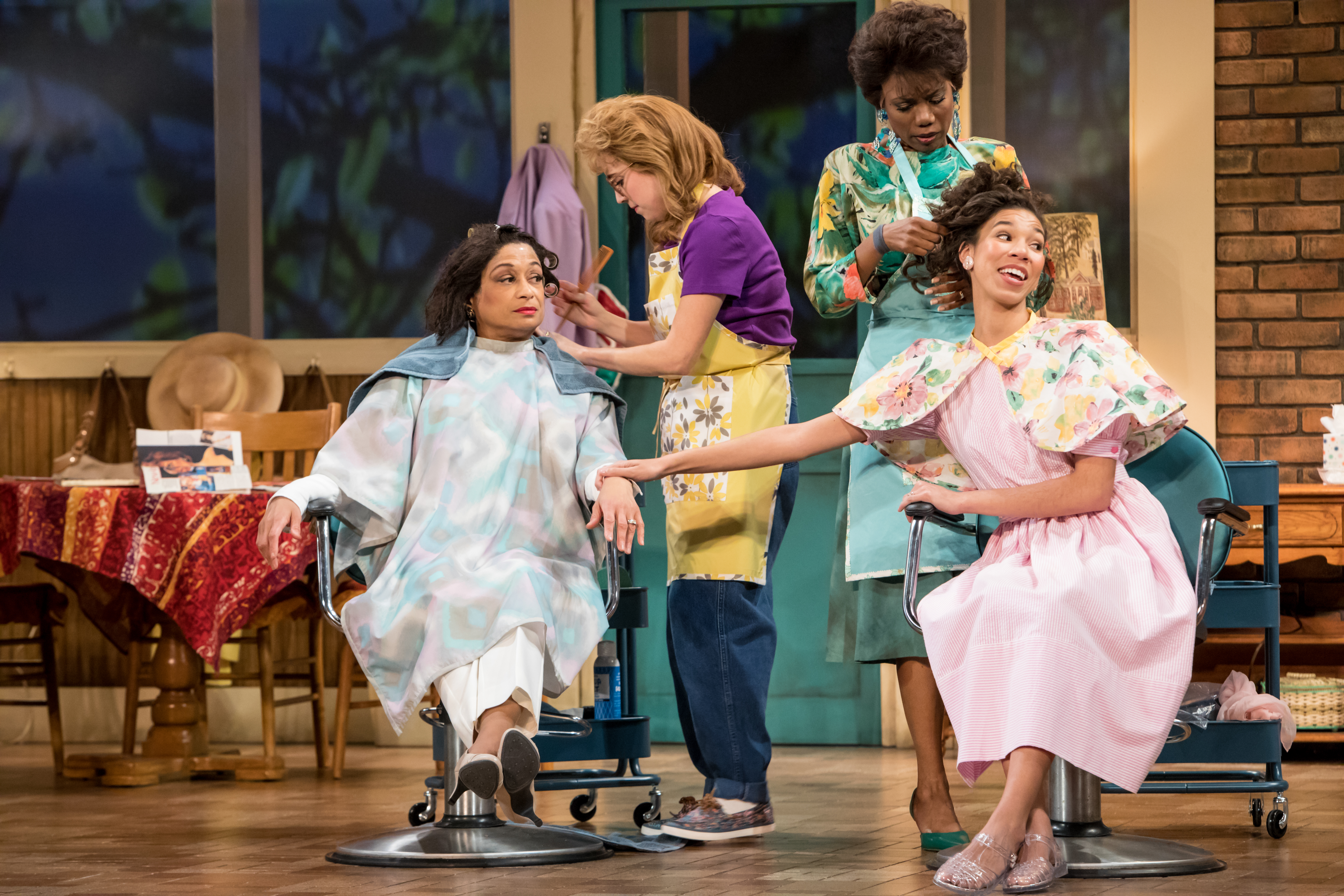 """""""Steel Magnolias"""" at the Guthrie, photo by Dan Norman"""