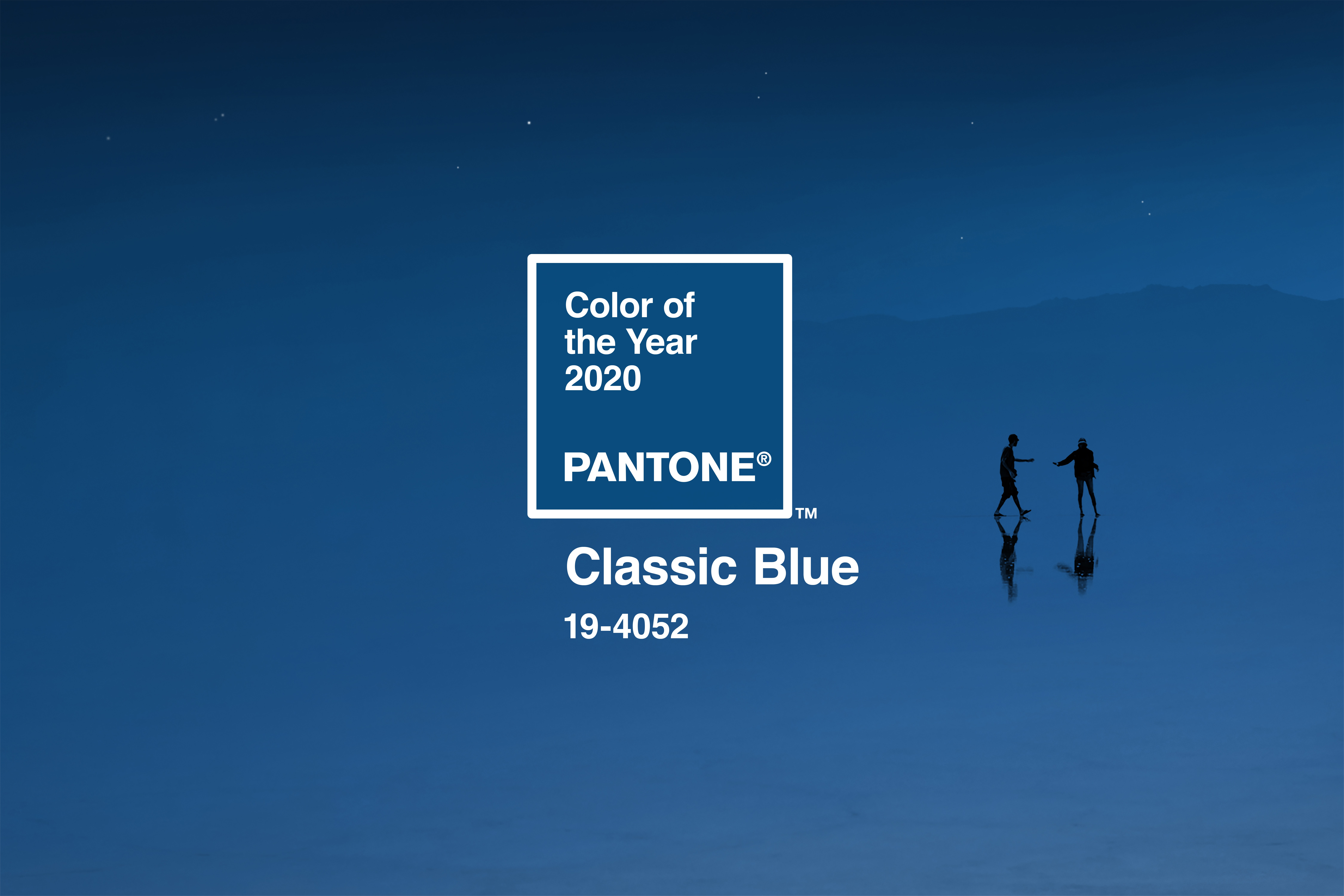 Classic Blue, the 2020 Pantone Color of the Year. Stephen Baker/Huge