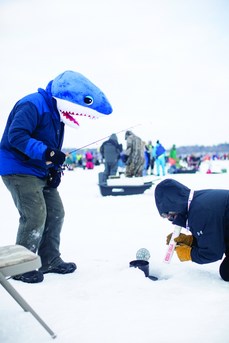 Brainerd's Ice Fishing Extravaganza