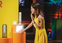 "Bemidji State grad Amber Leong pitches her idea for mood-enhancing lamps on ""Shark Tank"""