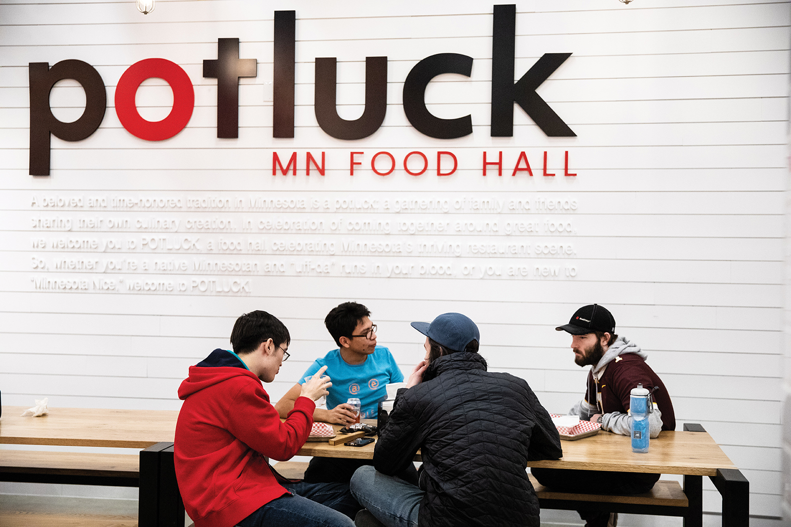 Winter To-Do List: Potluck food hall at Rosedale Center