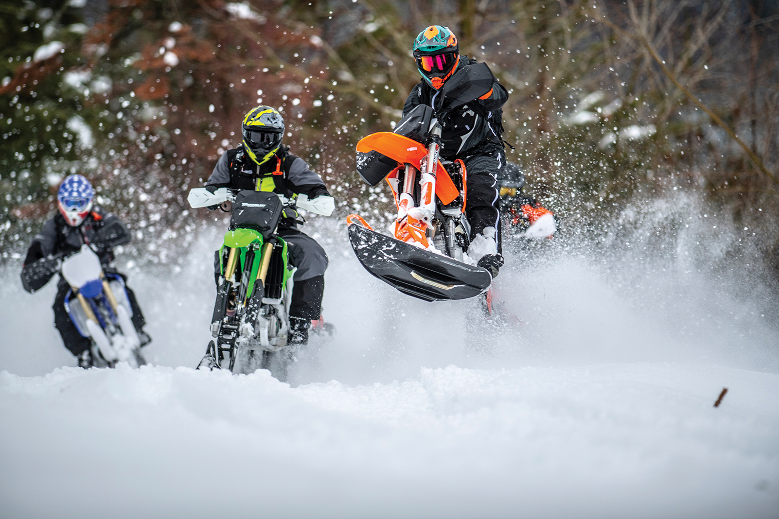 Winter To-Do List: Timbersled snowmobiles