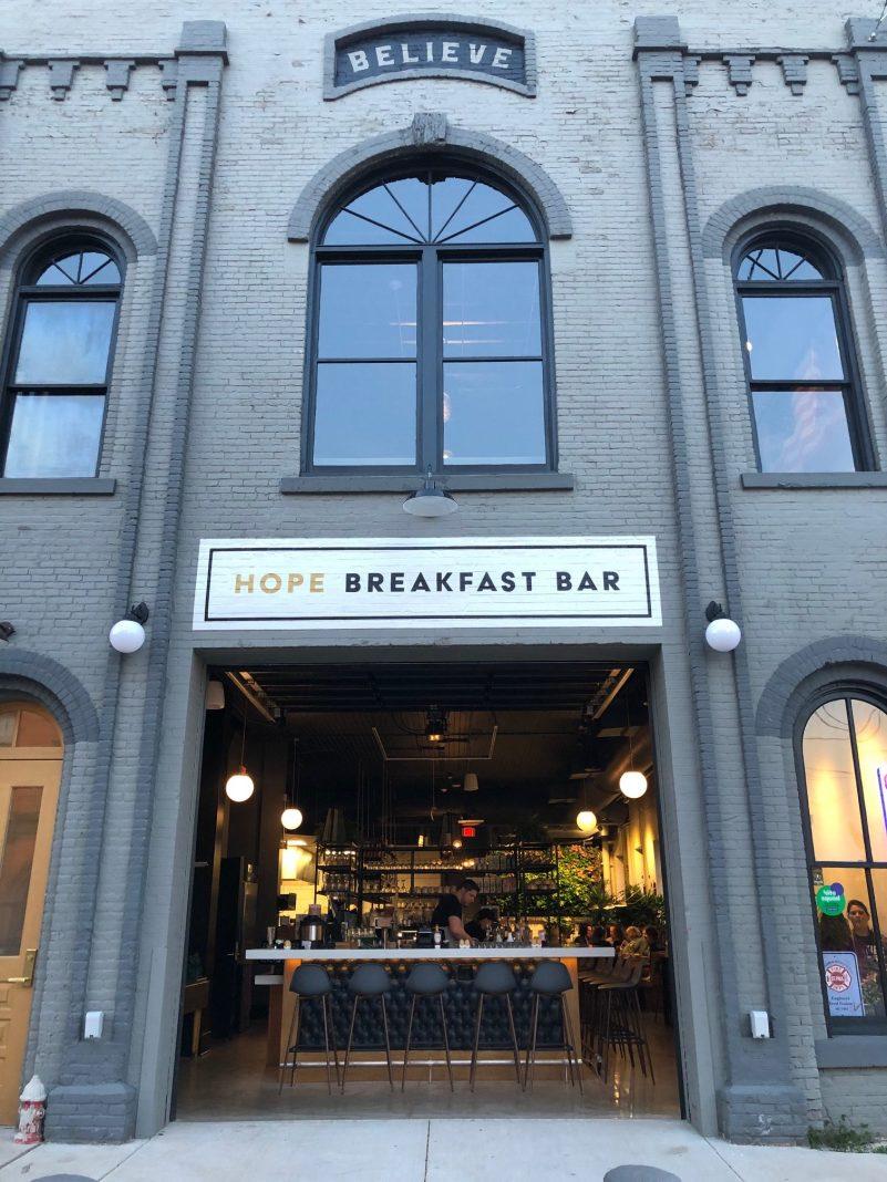 Hope Breakfast Bar, in St. Paul