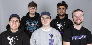 The five main players of Minnesota RØKKR for 2020