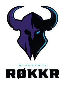 The Minnesota RØKKR logo