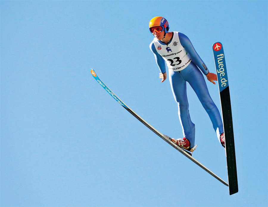 The International Ski Jumping Competition takes place this weekend in Bloomington