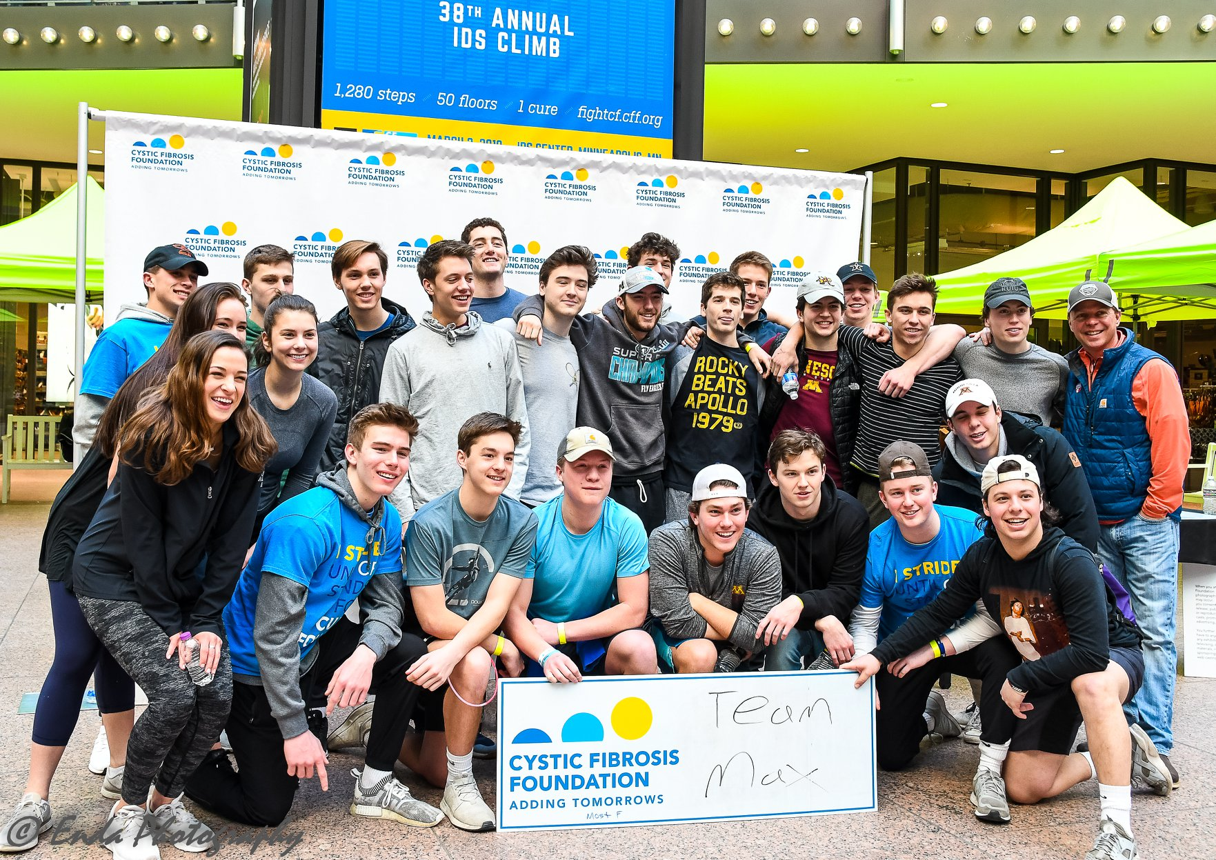 A 2019 Climb for a Cure group