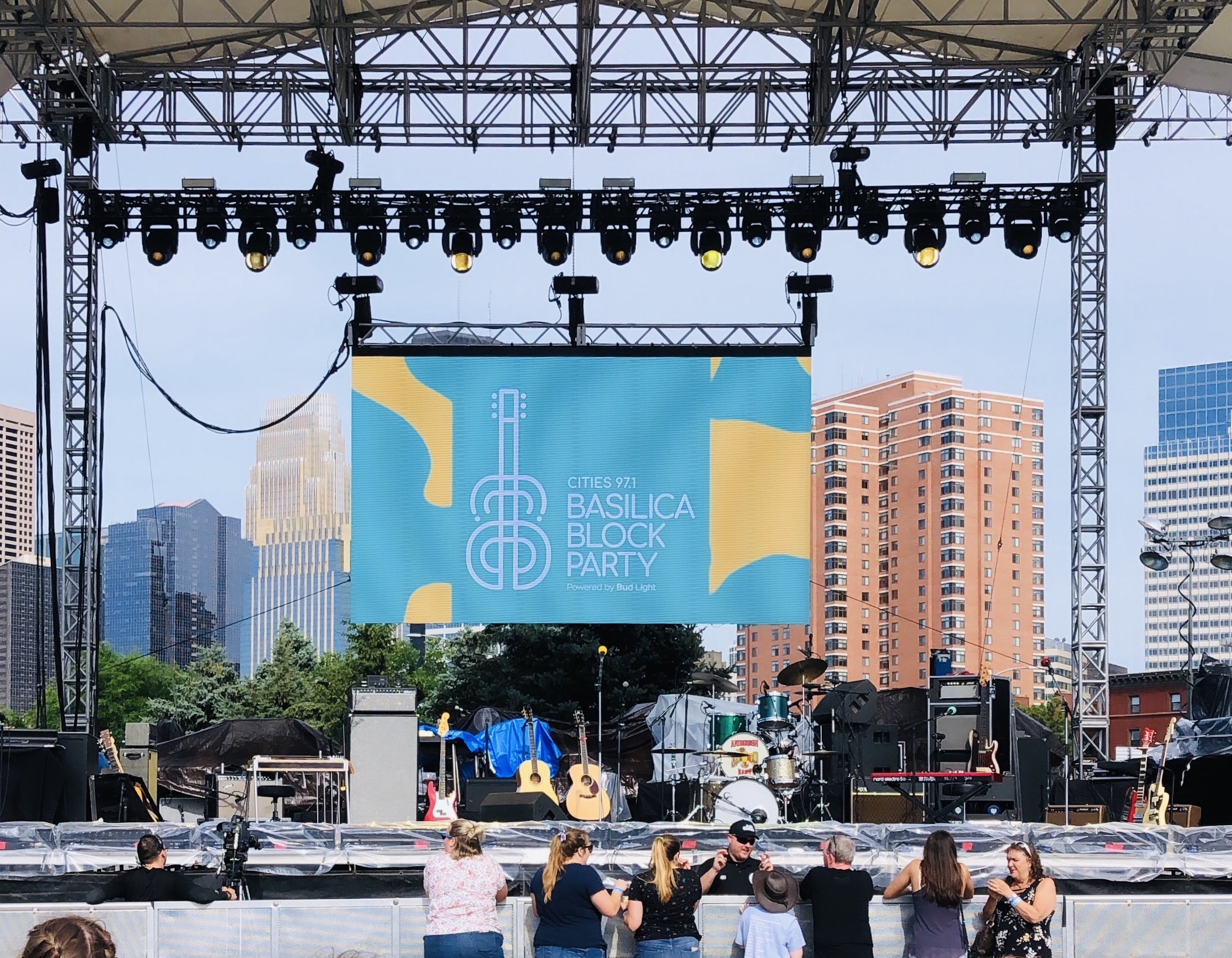 Great Clip Stages at Basilica Block Party