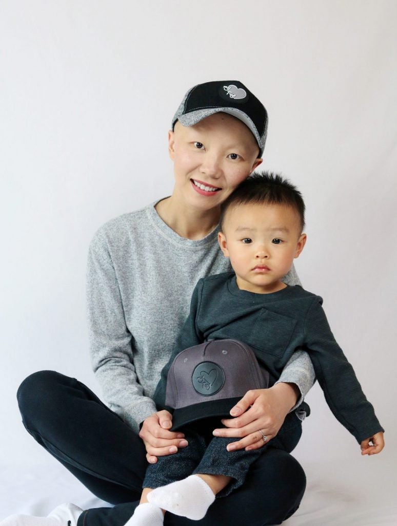 Ali Yang, founder of My Heart Tug, and her son, Paxton