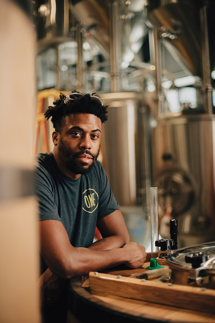 Brewer Ramsey Louder oversees a hub of experimentation at ONE Fermentary & Taproom, using a variety of fermenting vessels for a surprising range of flavors