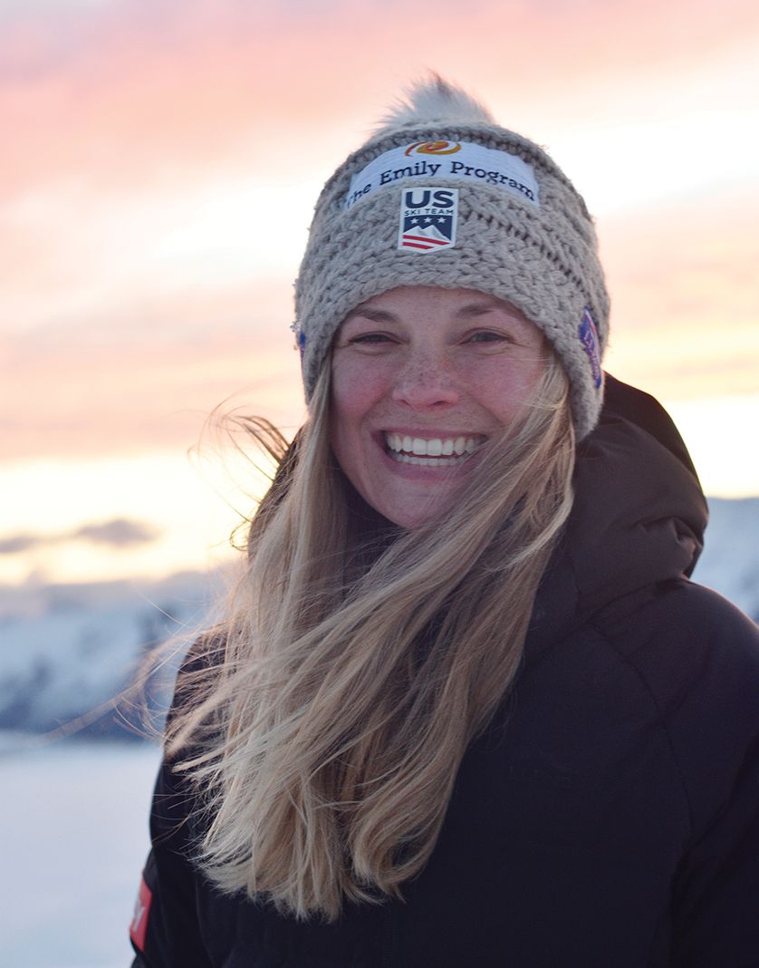 Jessie Diggins at Snow Farm Resort in New Zealand, where she trains with the U.S. ski team