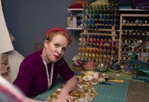 Kristen McCoy, the founder of ReThink tailoring