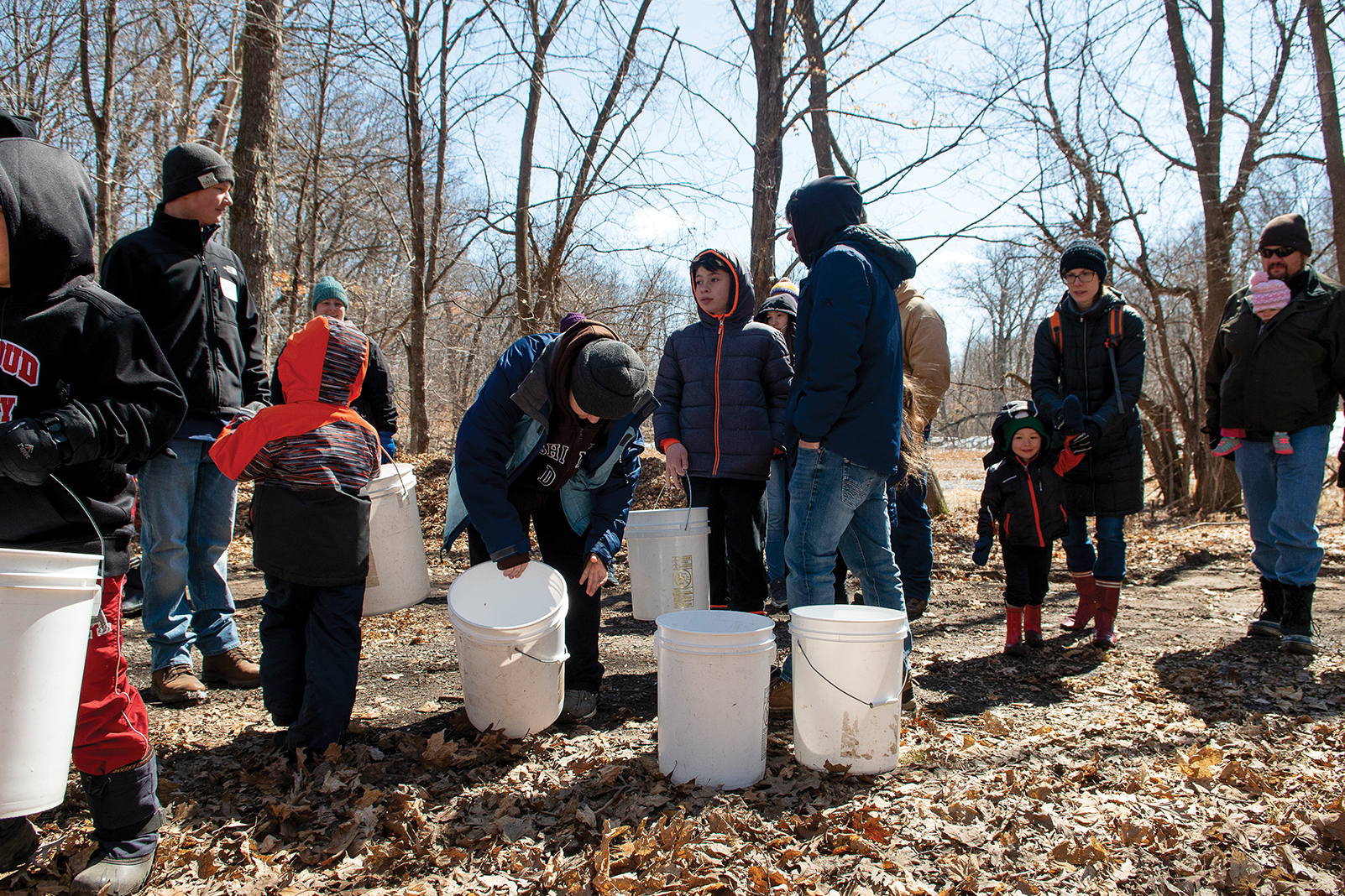 St. John's University hosts the annual maple syrup festival, this year on April 4