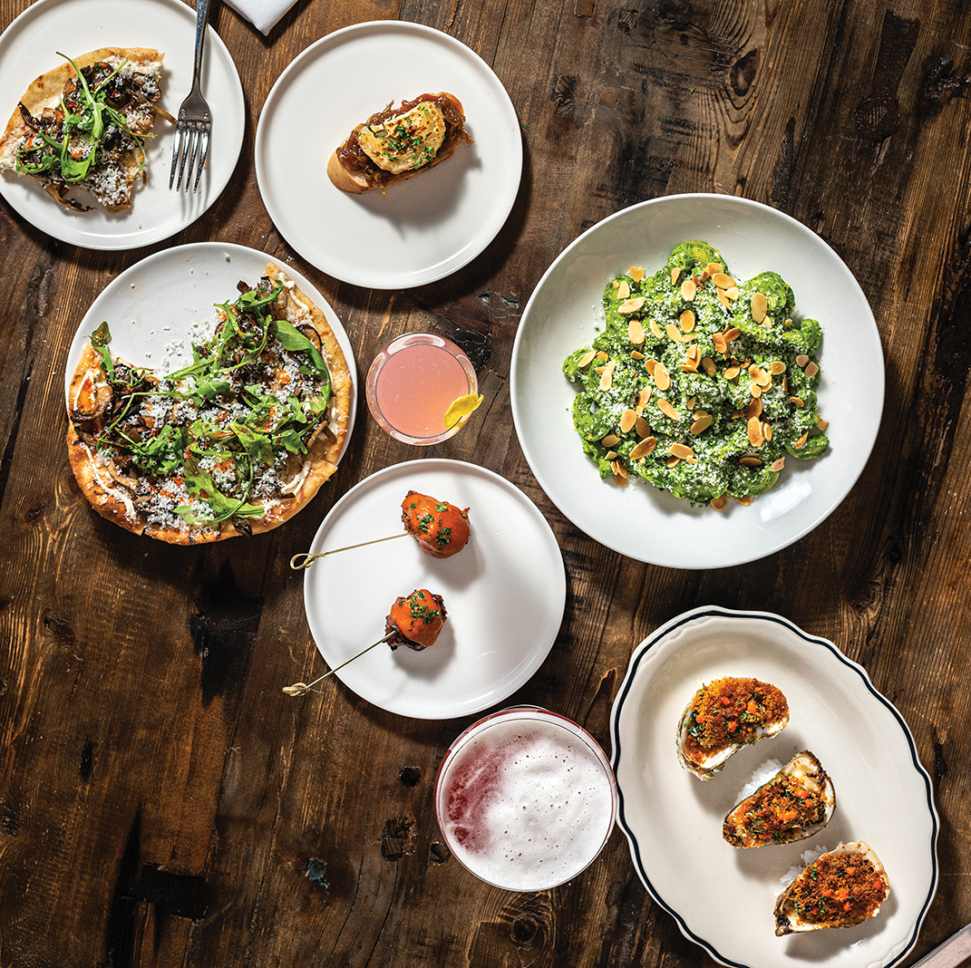 Estelle's satisfying small plates and enticing entrées combine Portuguese, Italian, and Spanish influences