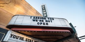 "The shuttered Uptown Theatre in Minneapolis updates a line from 1994 cult classic ""Clerks"""