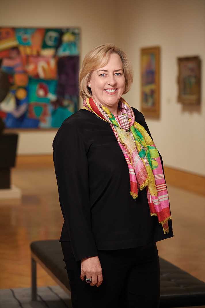 Before Mia, Katie Luber was director at the San Antonio Museum of Art