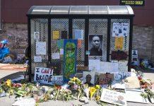 George Floyd Memorial at Chicago Avenue FLICKR