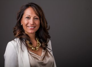 Headshot of IllumiNative founder Crystal Echo Hawk