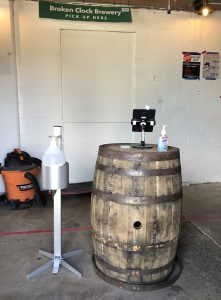 Working at a brewery during COVID-19: Host stations are new to breweries, but are important to contact tracing.