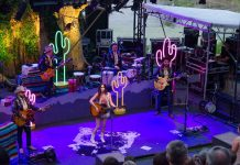 Kacey Musgraves playing at the 2015 Music in the Zoo. Courtesy Sue McLean & Associates and Greg Gibson