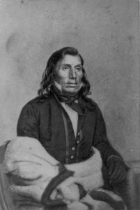 Chief Little Crow led Dakota bands in the 1862 conflict
