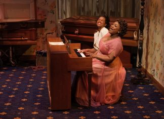 """Marie and Rosetta,"" starring Jamaica Bennett and Rajane Katurah Brown, was the last main stage production at Park Square Theatre before the COVID-19 pandemic hit."