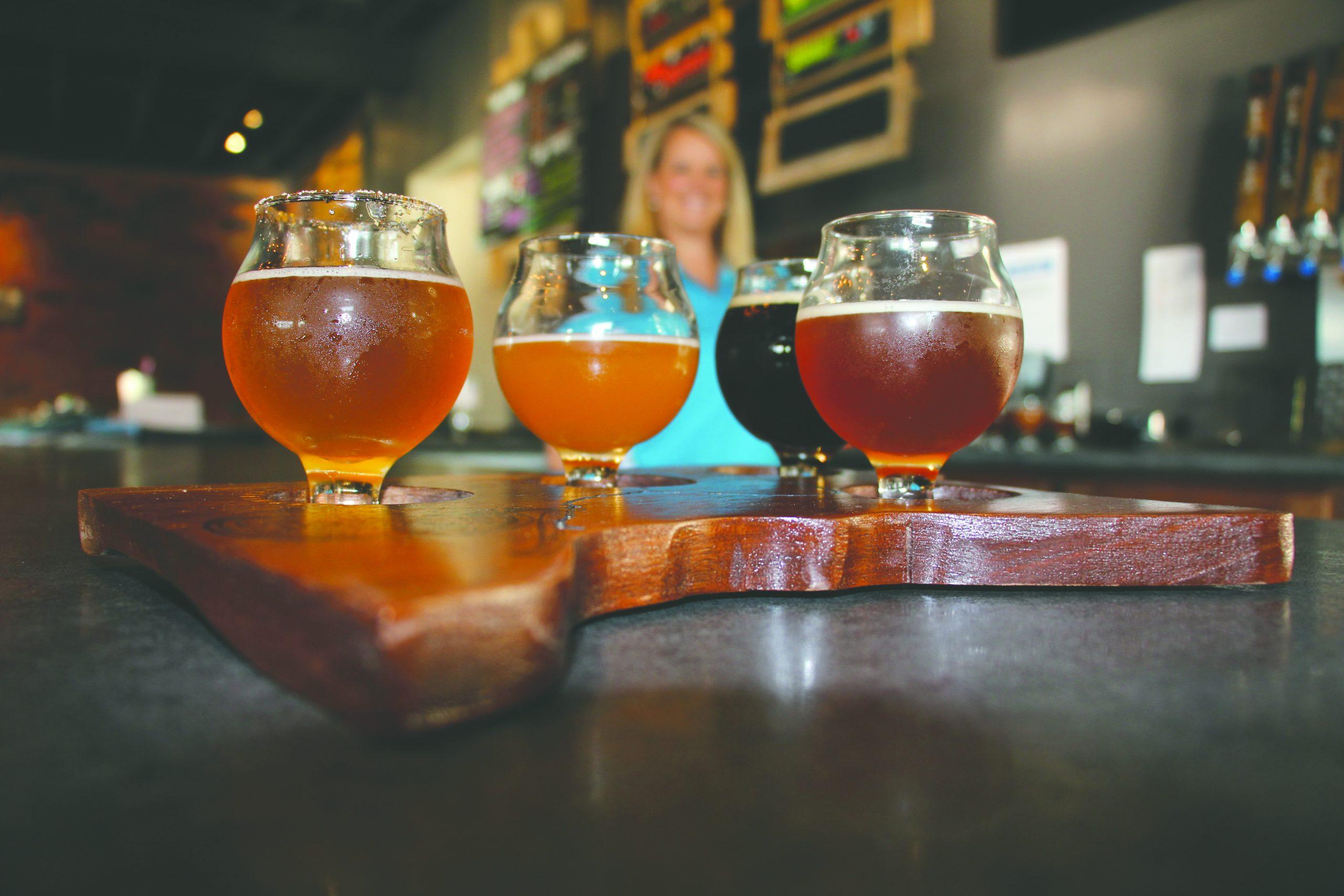 Forbidden Barrel Brewing Co. in Worthington, MN